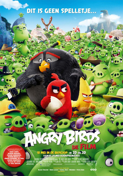 Angry Birds 2016 MOVIE POSTER
