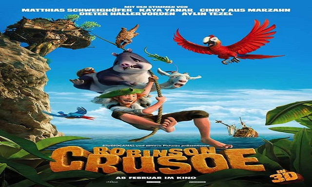 The Wild Life Robinson Crusoe Animated Movie HD